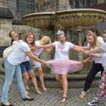 JGA Fotoshooting Brunnen