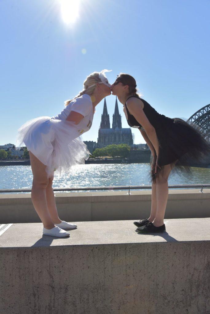 JGA Fotoshooting Kiss