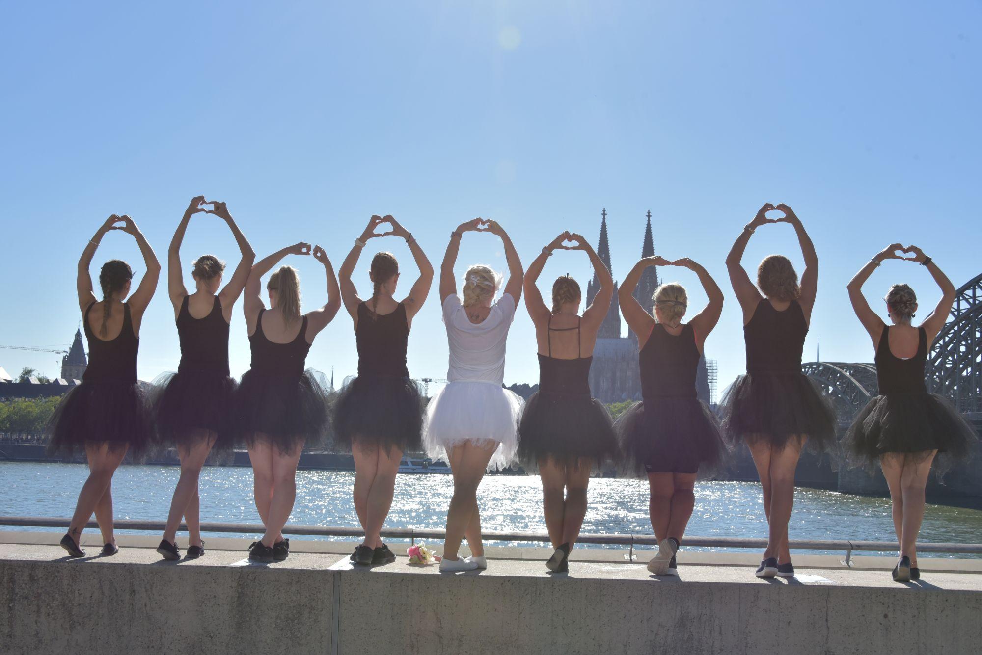 JGA Fotoshooting Ballett
